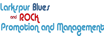Larkspur Blues and Rock Promotions Logo